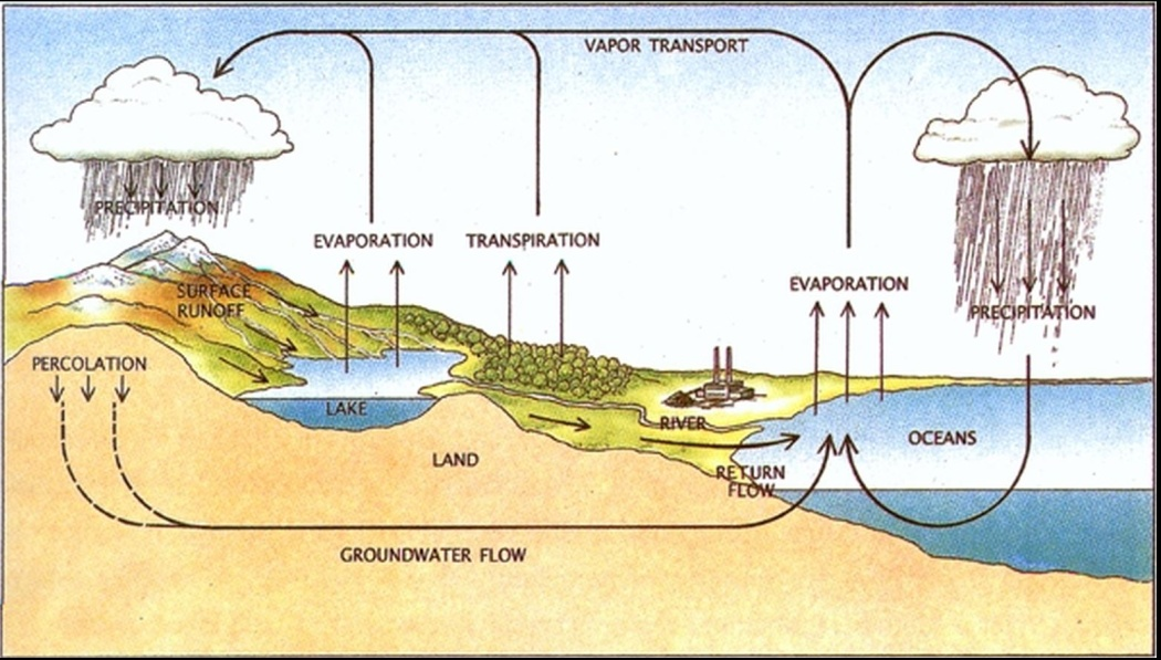 The water and energy cycle